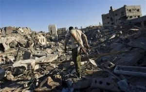 Israel strikes Gaza after militant rocket fire