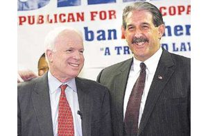 McCain says Saban best man for Maricopa County sheriff