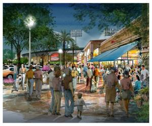 Early Wrigleyville West concept artwork
