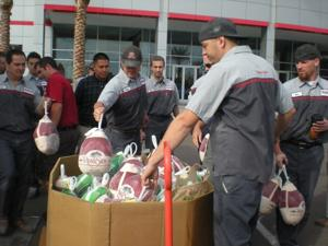 United Food Bank turkey drive