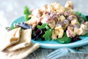 Tangy grilled chicken salad