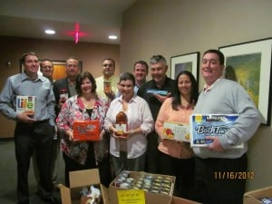 Cactus Agency food drive