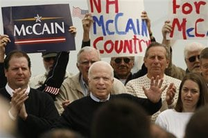 McCain officially jumps into presidential race