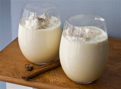 Food-American Table-Eggnog