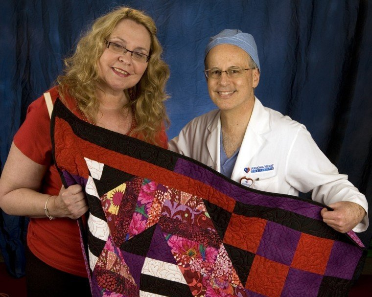 Quilting for heart disease