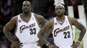 Shaq happy as co-star with Cavaliers