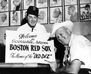 Charlie Briley and Dizzy Dean