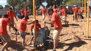 Volunteers, donations create Beverly Park