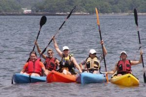 <p>This month's Becoming an Outdoors Woman workshop will feature kayaking and stand-up paddleboarding among nearly 30 other classes, hikes and activities.</p>
