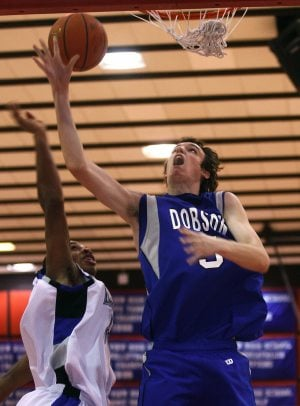Dobson's rally comes up short