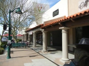 Main Street shops