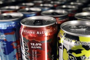 Alcoholic Energy Drinks