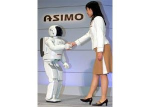 Honda robot Asimo learns to jog