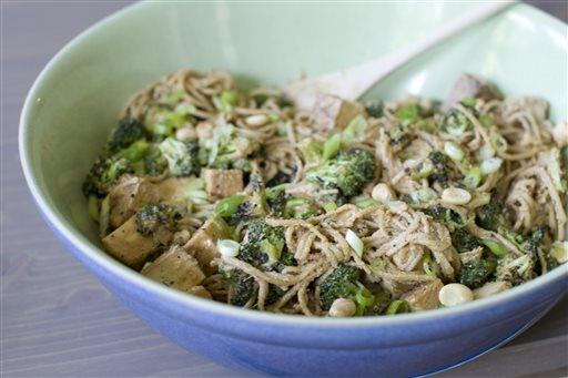 Food Deadline Peanut Noodle Salad