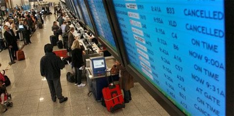 FAA glitch causes widespread air travel delays