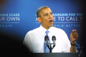 Video: President Obama speaks at Desert Vista HS