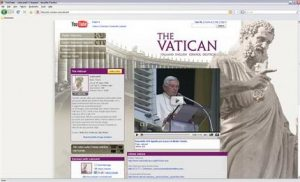 Vatican 2.0: Pope gets his own YouTube channel