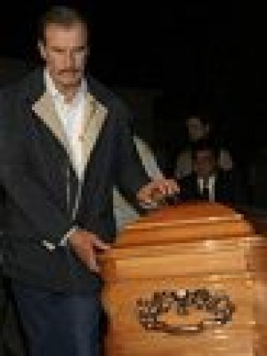 Mom of Mexican President Vicente Fox dies