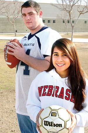 Willow Canyon athletes make college choices