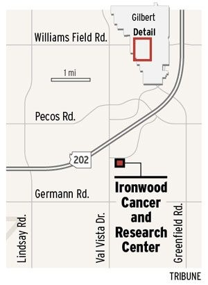 Cancer treatment center planned in Gilbert