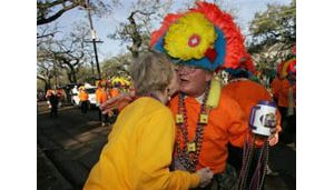 New Orleans turns out for Mardi Gras