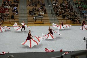 Cooley Middle School Winter Guard