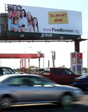 Group uses billboards to reach out to ex-Mormons