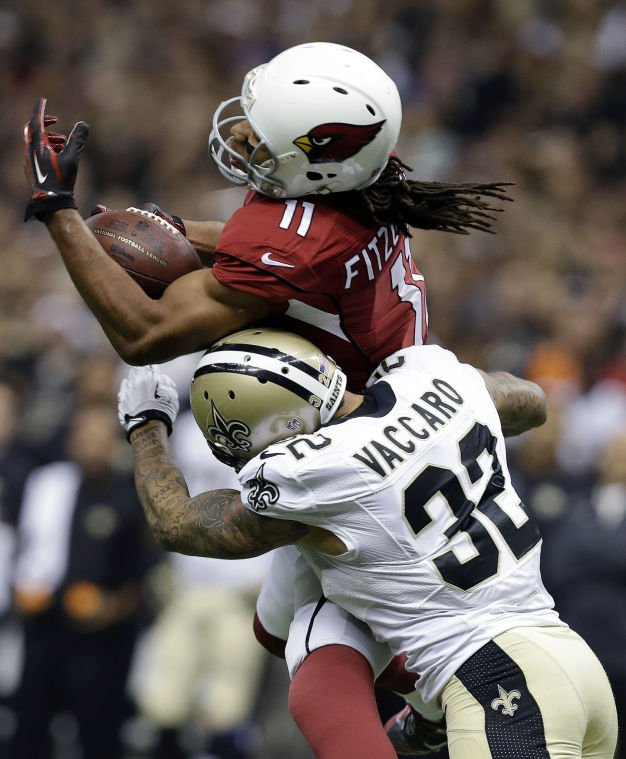 Larry Fitzgerald, Kenny Vaccaro