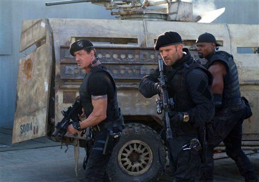 Film Review The Expendables 2