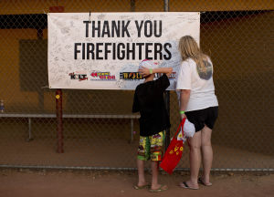 Yarnell Hill firefighters