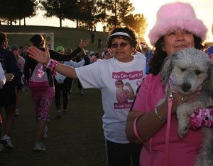 Breast cancer 3-day walk kicks off in Gilbert