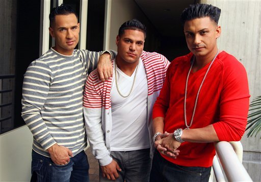 Ronnie Ortiz-Magro, Paul DelVecchio, Mike Sorrentino