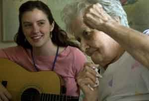 Gift of song hits uplifting note for seniors