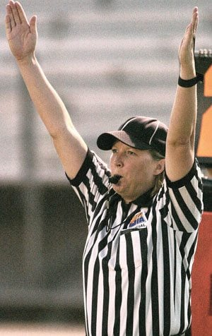 Maricopa woman finds niche as referee in male-dominated world of Arizona prep football