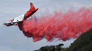 Damp weather helps crews battle wildfire