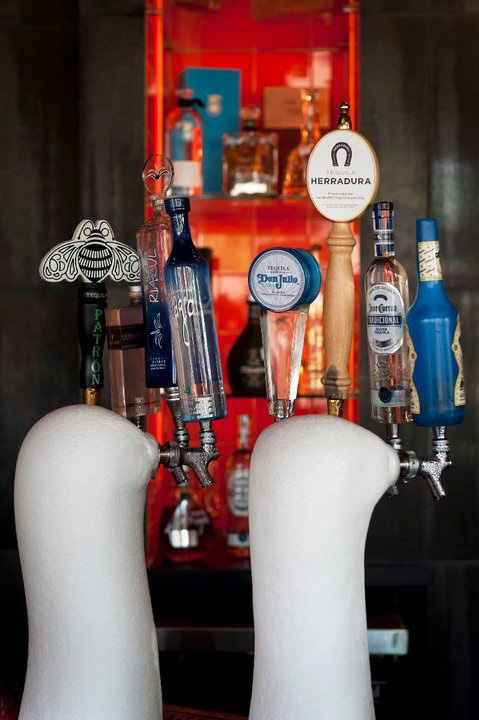 tequila on tap