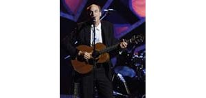 Springsteen, Sting honor James Taylor
