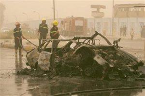Car bombings in Baghdad leave at least 6 dead