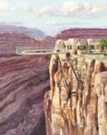 Deck to lure tourists over Canyon's edge
