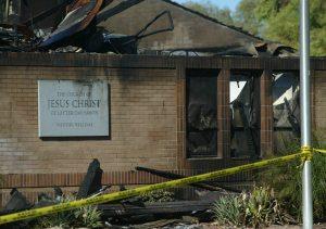LDS church fire in Mesa ruled arson