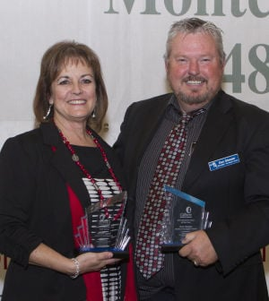 Gilbert Chamber of Commerce Business Woman and Man of the Year