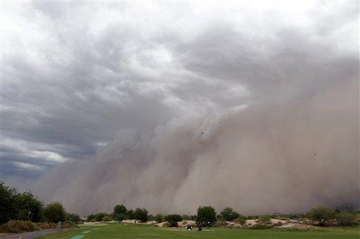 Sand Storm Arizona