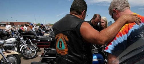 Motorcycle ministry revs up bikers 