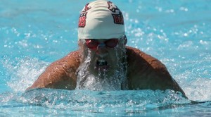 Brophy, 'Wojo' dominate swim event