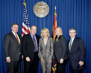 Jan Brewer and university presidents