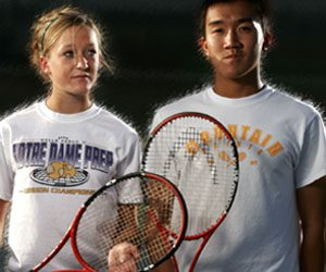 Tribune Tennis Players of the Year: Courtney Byron and Andy Nguyen
