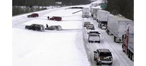 Massive winter storm strands travelers