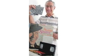 Chandler resident converts LPs to CDs and VHS tapes to DVDs