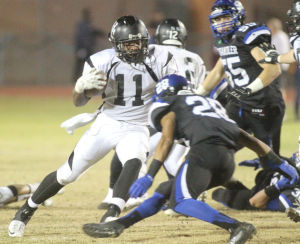 Chadwick churns out yards for Highland in 40-24 win against Mountain View