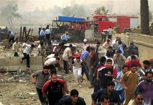 Bombs kill scores in Iraq